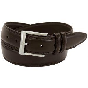 Florsheim 1136 - 32mm Pebble Grain Leather Dress Belt - Brown