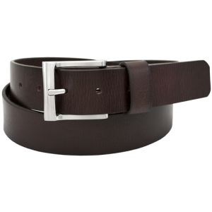 Florsheim 1190 - 35mm Buffalo Full-Grain Leather Casual Belt - Brown