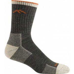 Darn Tough Hiker Micro Crew Cushion Socks - Olive - Single Pair