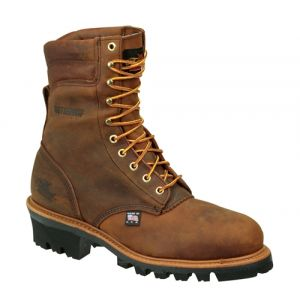 """Thorogood 8"""" Waterproof / Insulated Logger - Safety Toe"""