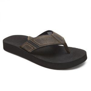 Dunham Carter Flip Flop/Thong Sandals - Brown