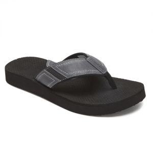 Dunham Carter Flip Flop/Thong Sandals - Grey