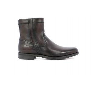 Florsheim Midtown Plain Toe Zipper Boot - Brown
