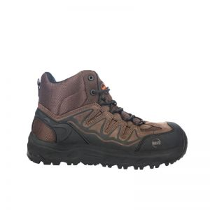 Hoss Eric Hi Oblique Aluminum Safety Toe Non Waterproof - Brown