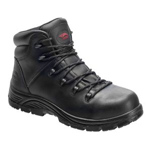 """Avenger 7223 Framer 6"""" Waterproof Composite Toe Boot - Black"""