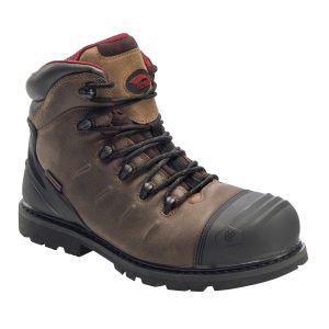 """Avenger 7546 Hammer 6"""" Composite Toe Work Boot - Brown"""