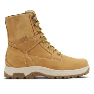 """Dunham 8000 Works 8"""" 400g Insulated Boot - Wheat Nubuck"""