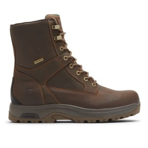 """Dunham 8000 Works 8"""" 400g Insulated Boot - Brown Leather"""