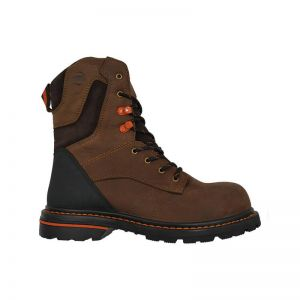 "Hoss Carson 8"" Brown Composite Toe Non Waterproof"