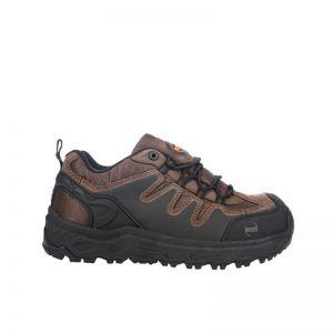 Hoss Eric Lo Oblique Aluminum Safety Toe Non Waterproof - Brown