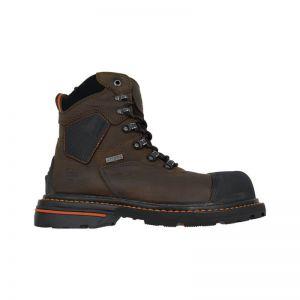 "Hoss Range 6"" Brown Composite Toe Puncture Resistant Waterproof"