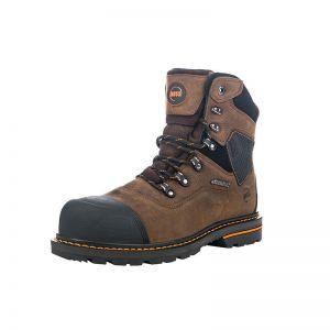 """Hoss Range 6"""" Soft Toe Puncture Resistant Waterproof - Brown"""