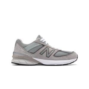New Balance 990v5 Men's Running Shoe - Grey with White