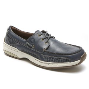 Dunham Captain - Navy Boat Shoes