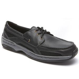 Dunham Captain - Black Boat Shoes