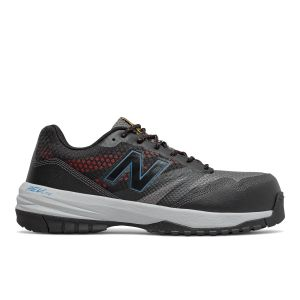New Balance Composite Toe 589 ESD Athletic Work Shoes - Black / Toro Red