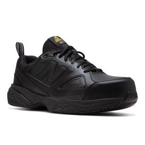 New Balance Steel Toe 627v2 Athletic Work Shoes - Black