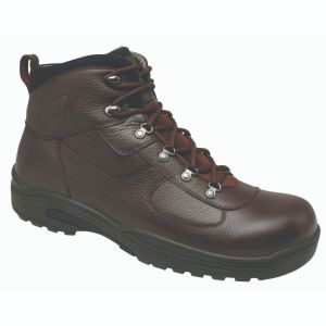 Drew Shoe Rockford - Dark Brown Tumbled Leather