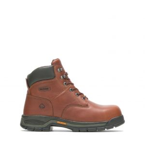 """Wolverine Harrison 6"""" Lace-Up Steel-Toe EH Boot"""