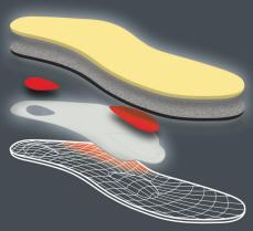 Padded comfortable heel cushion